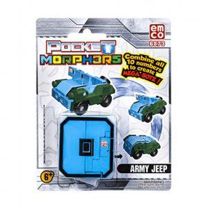 Pocket Morpher army jeep
