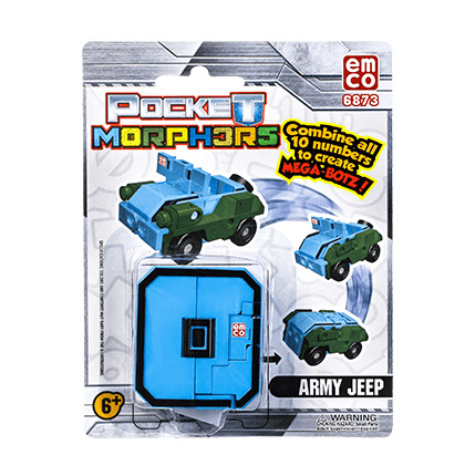 Pocket Morpher army jeep